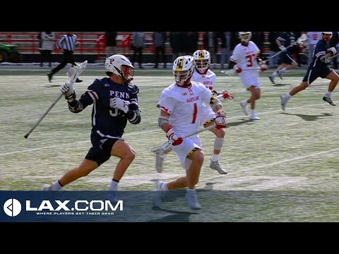 Univ. Of Pennsylvania Vs Maryland | 2020 College Highlights