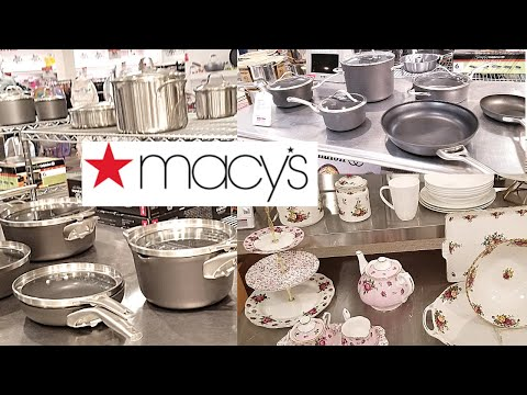 Huge Macy S Kitchen Stuff Kitchenware On Clearance Macy S Pots And Pans Sale Shop With Me Youtube