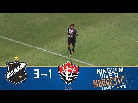 Melhores momentos - ABC 3 x 1 Vitória - Copa do Nordeste (10/02/2018)