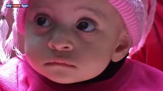 الطفلة إيناس وجدتها زاد الخير بحاجة إلى العلاج و سكن صحي