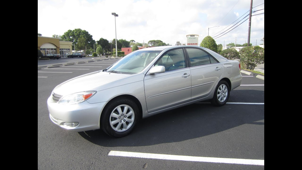 Sold 2004 toyota camry xle 90k miles meticulous motors inc florida for sale youtube