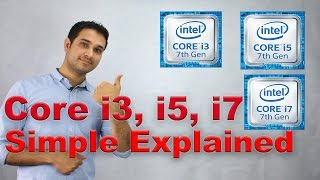 Core i3, Core i5 & Core i7 Simple Explained!