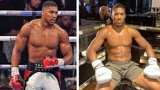 EXCLUSIVE: Anthony Joshua nutritionist laughs off 'TRANSFORMATION'