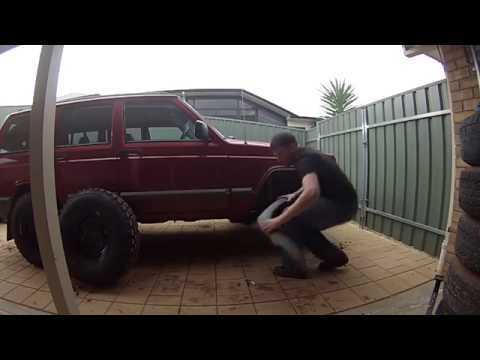 "XJ Jeep how to fit 31"" tires (part 1)"