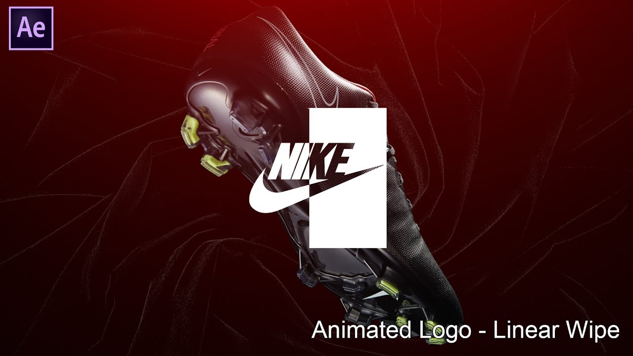 After Effects Tutorial #4 - Animated Logo [Linear Wipe] | Quick Tutorial