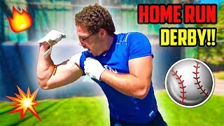 COLLEGE BASEBALL DINGER DERBY!! (EPIC Home Runs!)