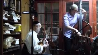 Andy Statman Trio - P1010152  12-3-15 Charles Street Synagogue, NYC