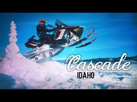 Lake Cascade Idaho WINTER!