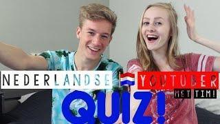 Nederlandse Youtuber Quiz | Met Tim!