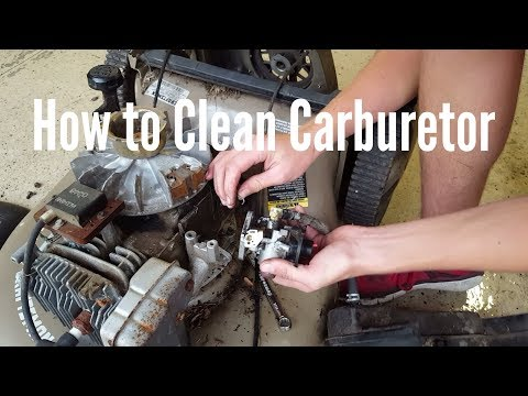 How To Clean a Carburetor in 3 Ways