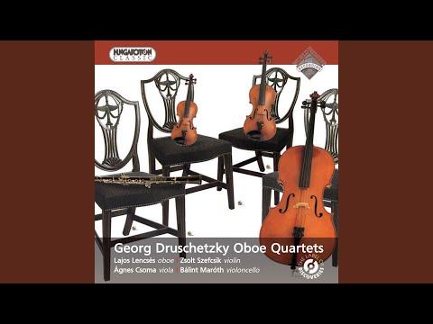 Oboe Quartet in G minor : I. Adagio. Allegro