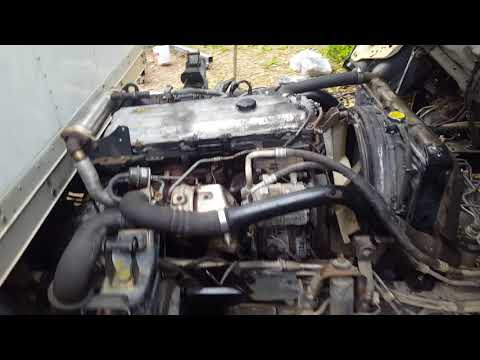 Isuzu NPR 4HK1TC 5.2 diesel engine replacement start attempt