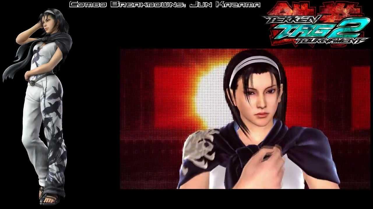 Tekken Tag 2 Jun Combo Breakdowns Youtube