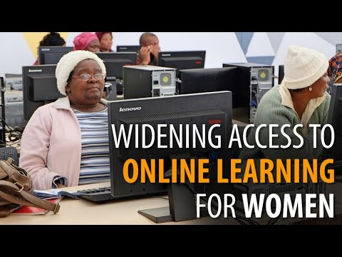 Widening access to online learning for women in developing countries