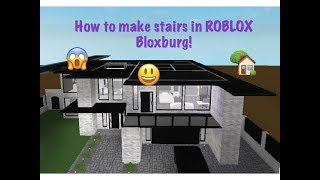 HOW TO MAKE A SECOND FLOOR ON ROBLOX BLOXBURG (GAMEPASS REQUIRED) (2018, OLD)