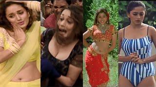 Madhuri Dixit Hot Compilation Part 2  Hai Jaana  Barson Ke Baad  Tezaab  Prem Granth  hotvidz🔥🔥