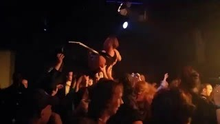 ARCH OF HELL Stage Diving!