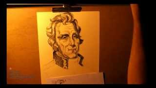 Portrait of Andrew Jackson (the 7th President of the United States)