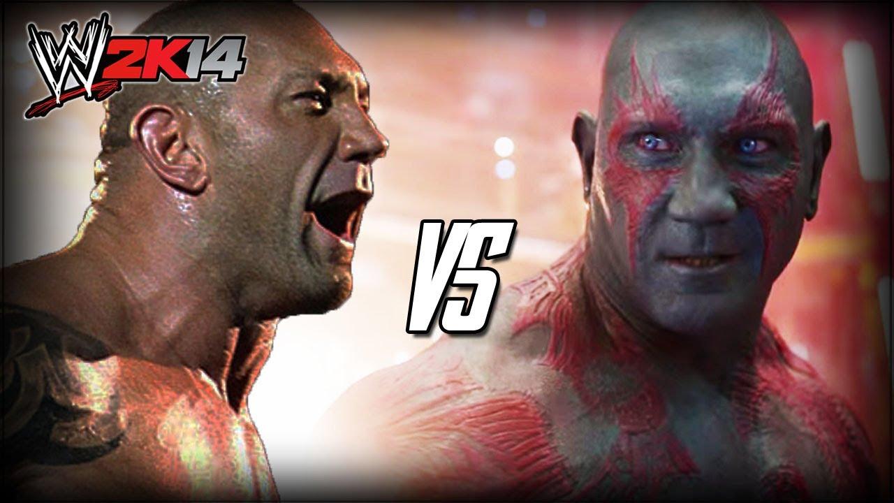 Batista 2014 Tattoos WWE 2K14 S3E1 - Batist...