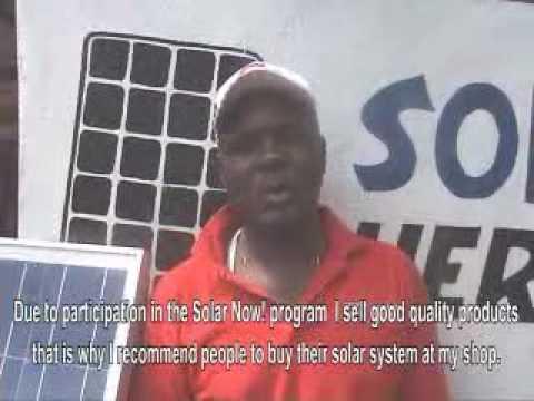 Solar Now Tanzania Promotional