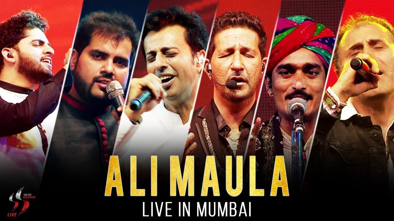 Ali Maula Kurbaan Salim Sulaiman Live Jubilee Concert Mumbai