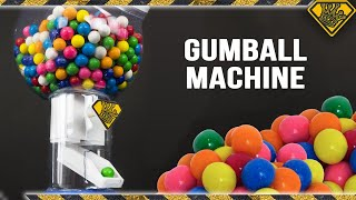 DIY Gumball Machine! TKOR Explores How To Make A Gumball Dispenser DIY Style!