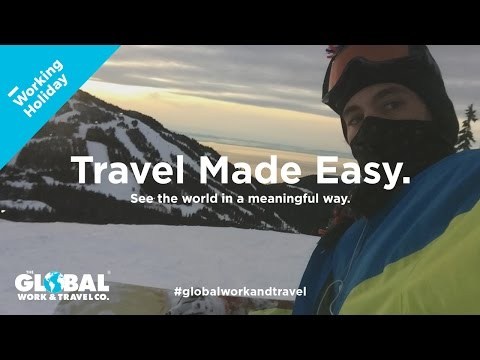 Working Holiday in Canada with Corey - The Global Work & Travel Co.