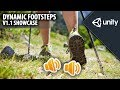 Dynamic Footsteps - v1.1 Showcase - Unity Asset