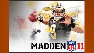 Madden 11 Gameplay Colts Saints PS3 {1080p 60fps}