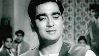 Aansoo Samajh Ke - Sunil Dutt, Talat Mehmood, Chhaya Song