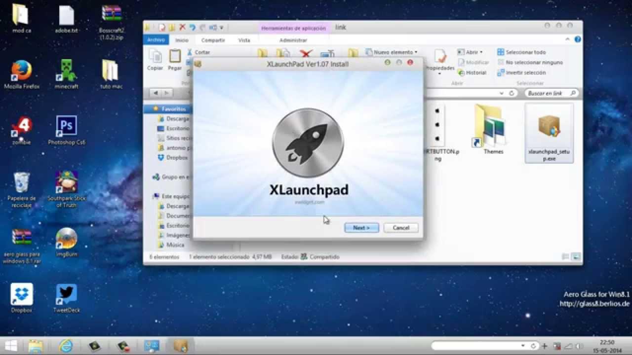 tema para windows 8 mac