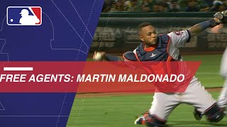 Martin Maldonado enters free agency at age 32