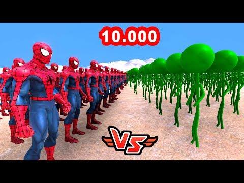 ÖRÜMCEK ADAM VS 10.000 LOLİPOP 😱 - Süper Kahramanlar