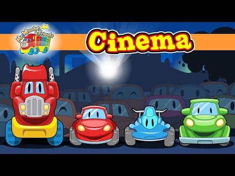 """Cinema"" @ ""Mr.Wheeler&Friends"" CARtoons for kids"