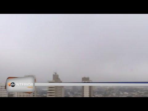 Presidente Prudente amanhece com forte neblina