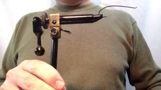 Fly Tying 101: Lesson 1, The Vise