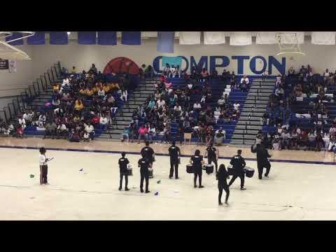 Environmental Charter High School DrumLine featuring Tarbabe Cadences 3:12
