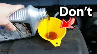Don'T Waste Your Money On This Type Of Engine Oil