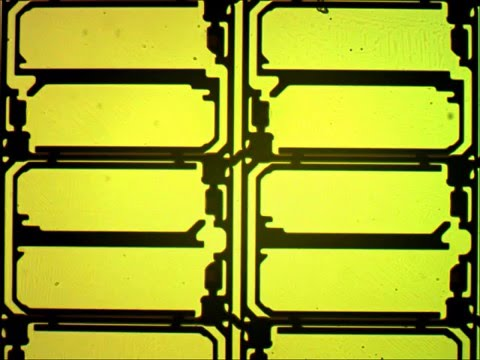 Microelectronic circuit of the TFT LCD