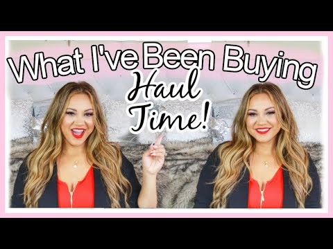 What I've Been Buying.  COLLECTIVE HAUL!!!  Nordstrom Rack, Off Saks Fifth Avenue & Amazon