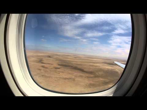 Embraer ERJ 135 landing at Walvis Bay airport (Namibia)