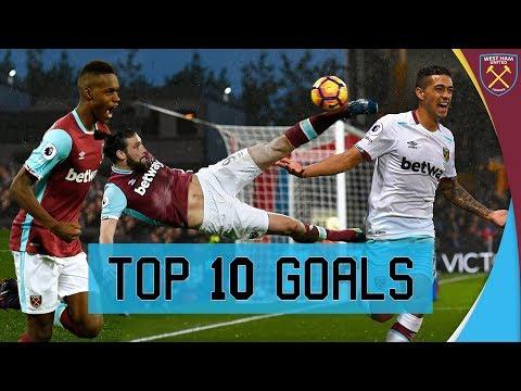 TOP 10: GOALS OF THE 2016/17 SEASON