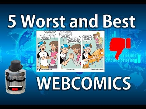 The Worst and Best of Webcomics