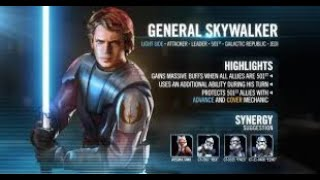 Phase 2 Strategy and Walk Through for the General Anakin Skywalker Event | SWGOH | Merry Christmas !