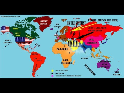How America Sees The World Map.Interesting Maps That Will Change The Way You See Earth Youtube