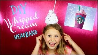 How to Make a Whipped Cream Frosting Headband