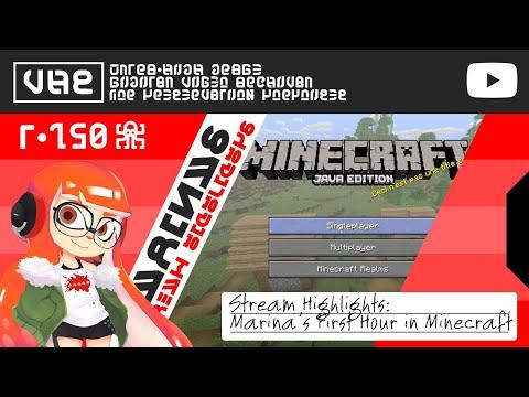 Googie's First Hour In Minecraft