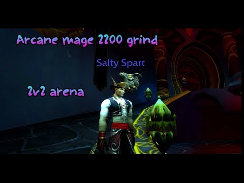 2200 Rating Grind - Arcane Mage PvP