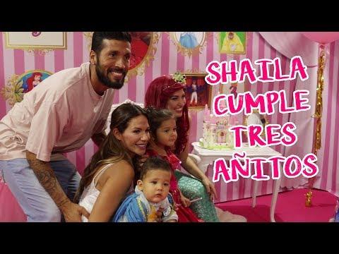 Cumpleaños De Shaila | Con Frozen, Olaf Y Las Princesas Disney