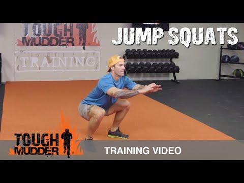 Squat Variation: How To Do a Jump Squat | Tough Mudder